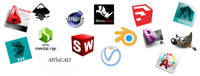 Software di modellazione render e postproduzione quali for Programmi architettura 3d